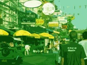 Flanieren In Bangkok