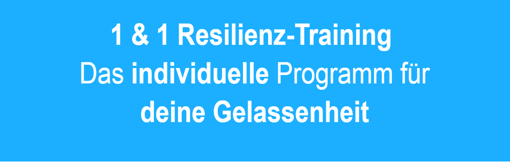 reilienztraining header