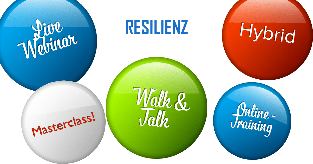 Resilienztraining Variationen